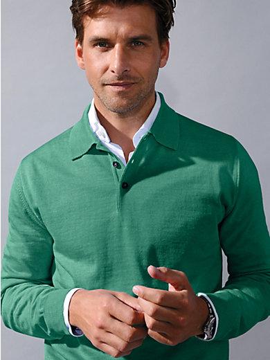 Peter Hahn - Polopullover van 100% scheerwol