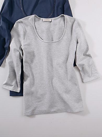 Uta Raasch - Shirt met ronde hals en driekwartmouwen