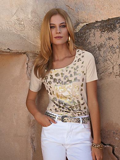 Uta Raasch - Shirt met ronde hals en korte mouwen